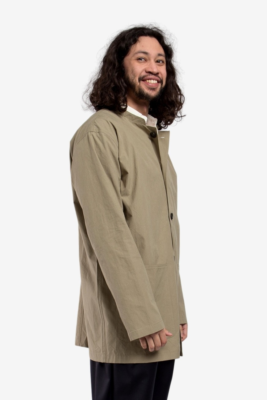 A Kind of Guise Atelier Coat in Washed Olive