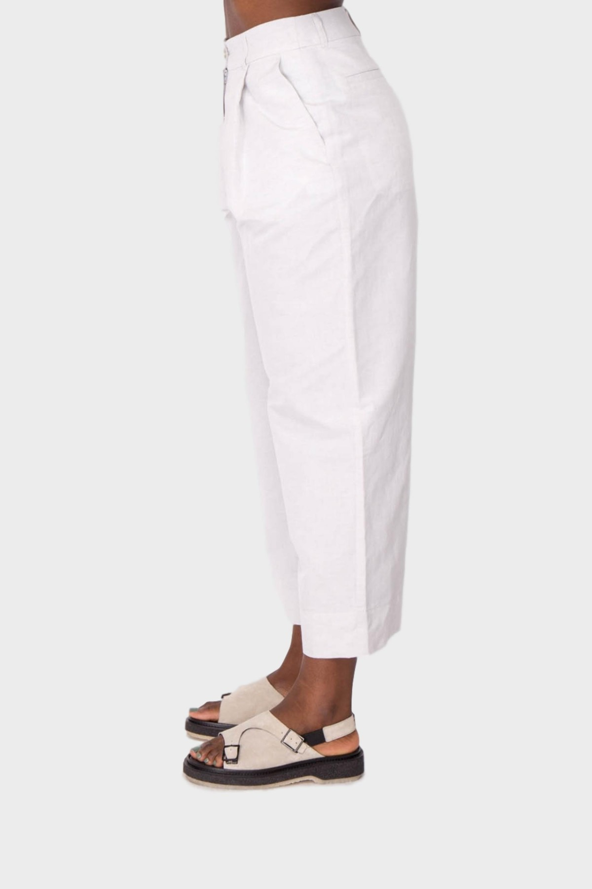A Kind of Guise Banku Trousers in Light Stone