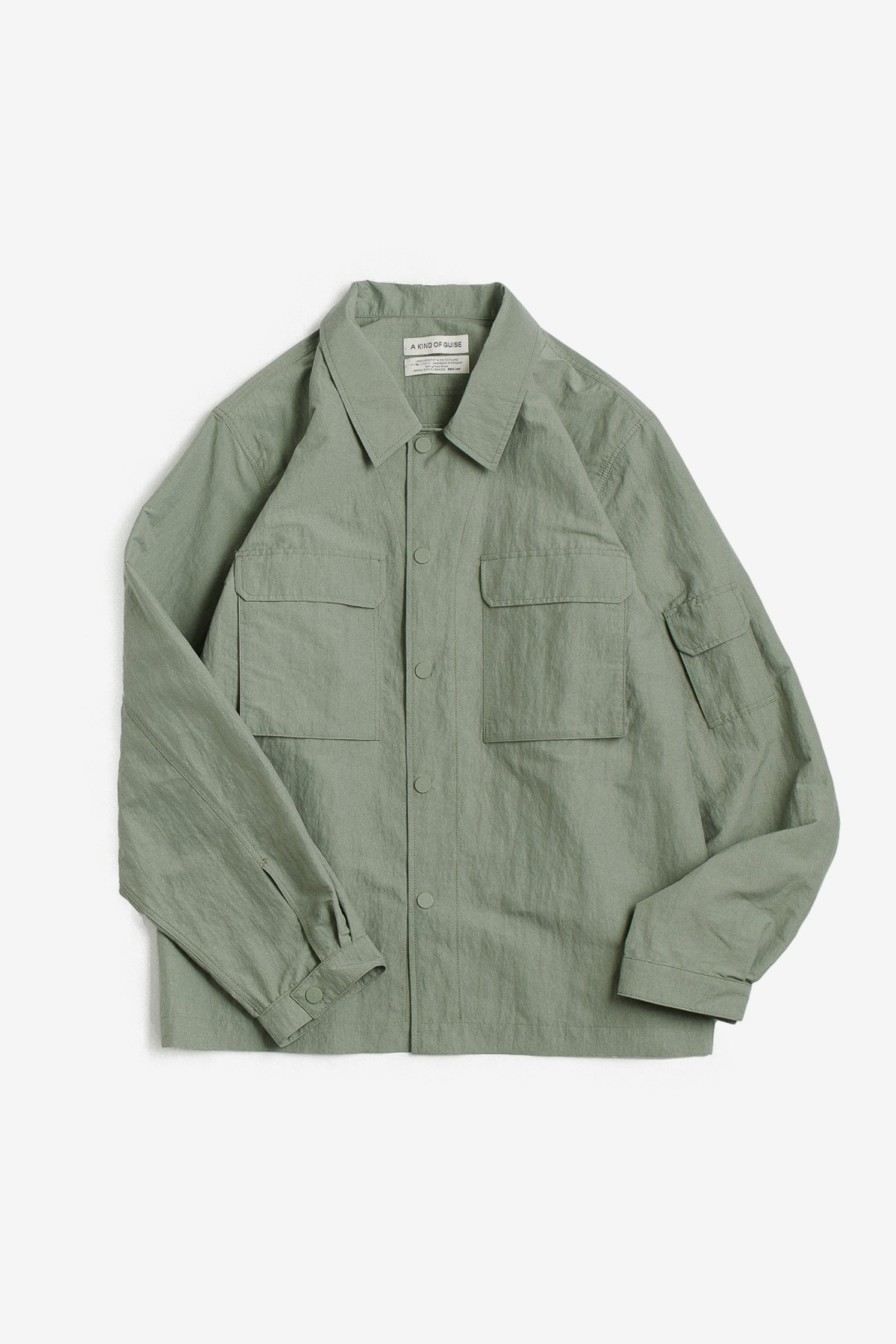 A Kind of Guise Clyde Shirt in Aloe