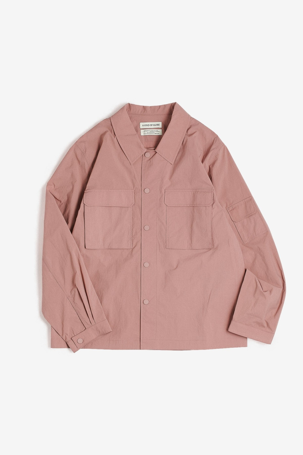 A Kind of Guise Clyde Shirt in Dusty Rose