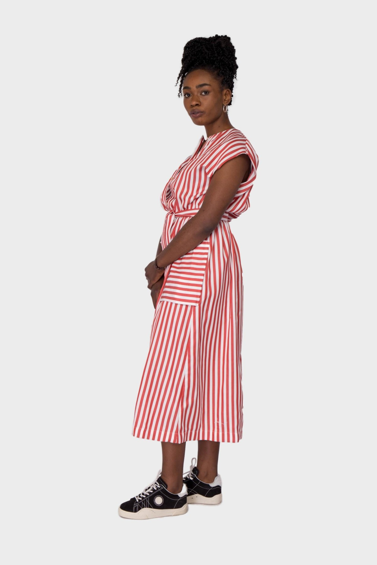 A Kind of Guise Dalang Dress in Cherry Stripe