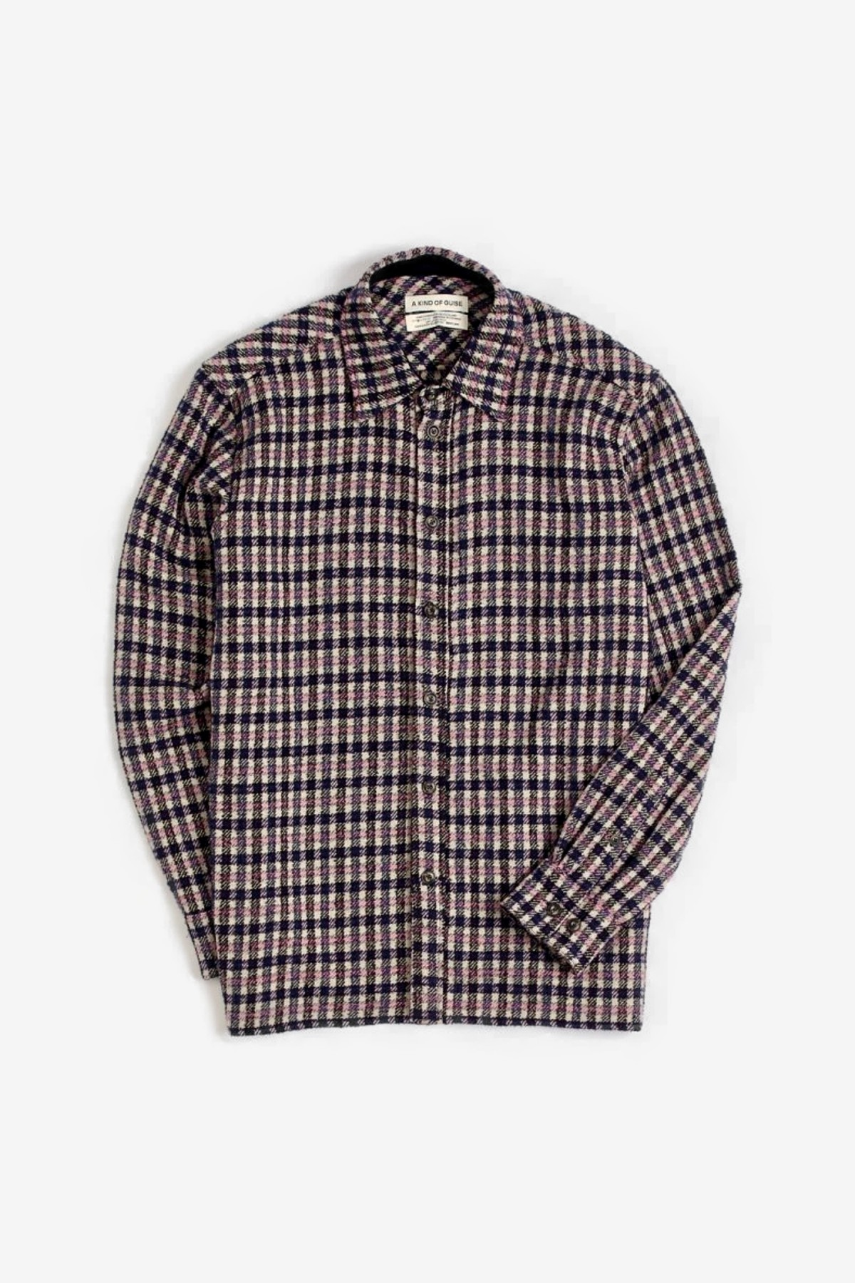 A Kind of Guise Dullu Shirt in Lavender Check