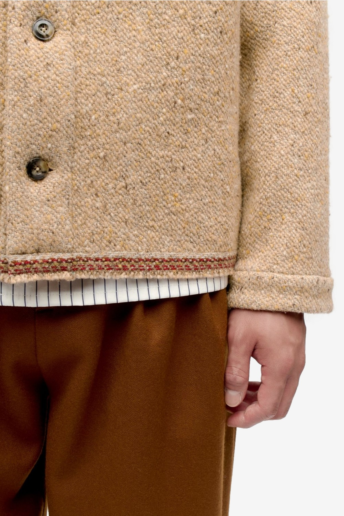 A Kind of Guise Kura Cardigan in Curly Sheep
