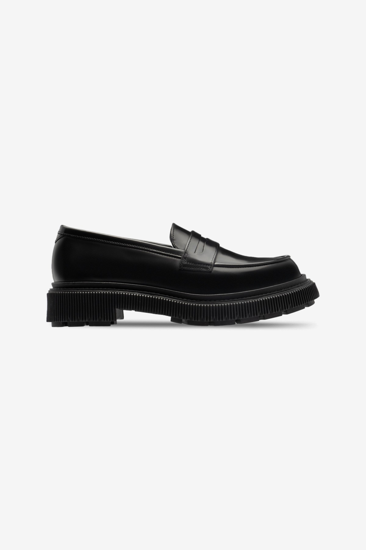 Adieu Type 159 Penny Loafer in Black