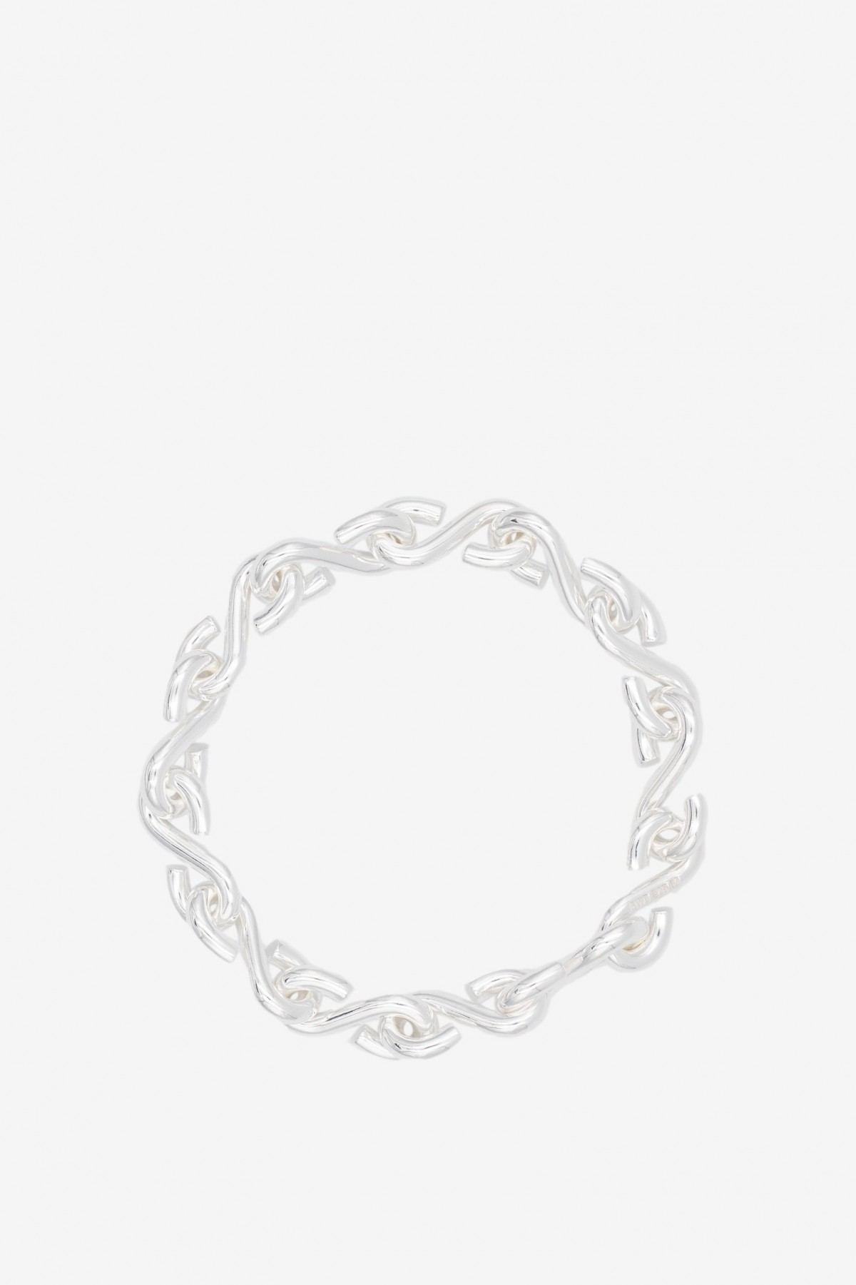 All Blues  S Bracelet in Polished Silver