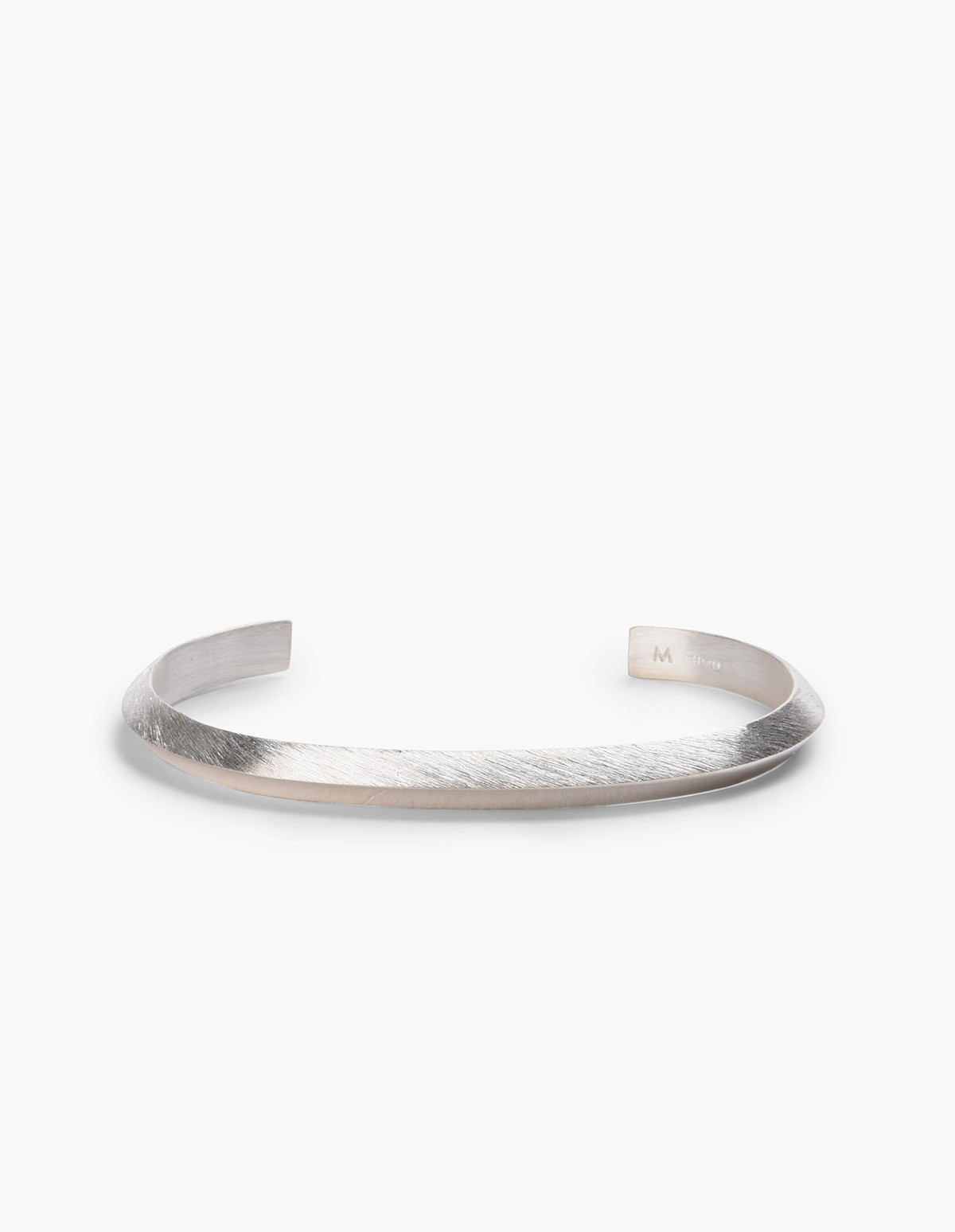 All Blues  Triangle Bracelet  - Polished Silver  in Silver