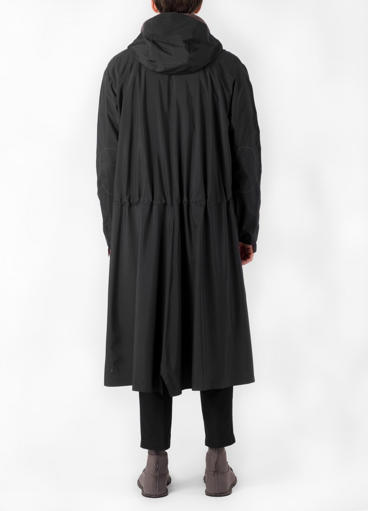 senscommon All-Commute Overcoat  in Black