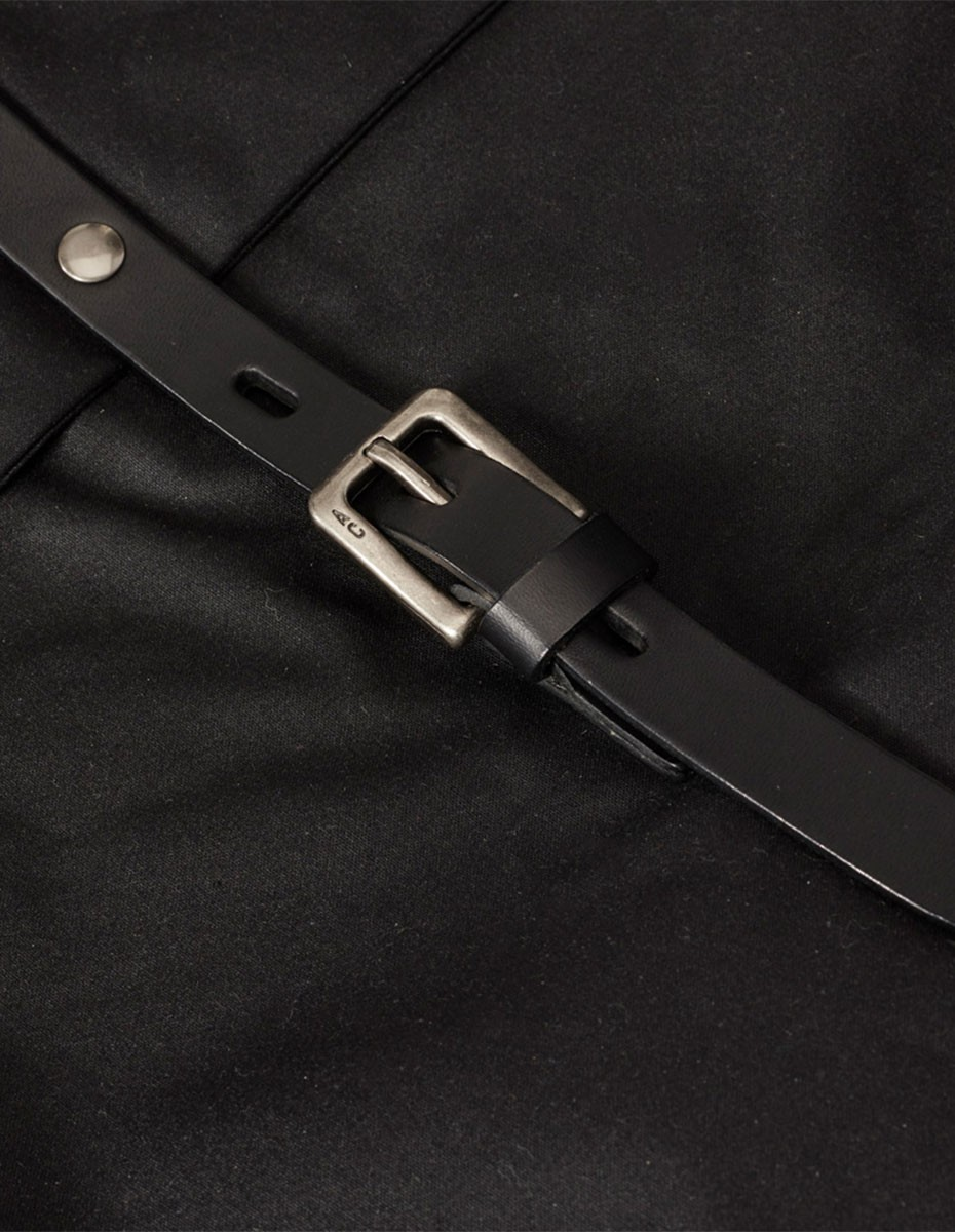 Ally Capellino Frances Waxy Small Rucksack in Black