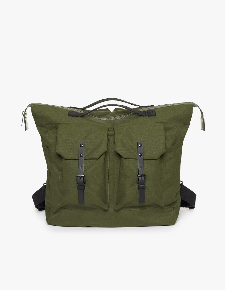 Ally Capellino Frank Ripstop Backpack in Green