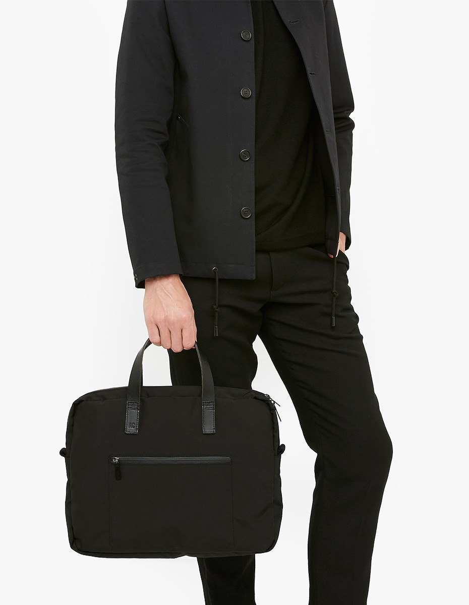 Ally Capellino Mansell Briefcase in Black