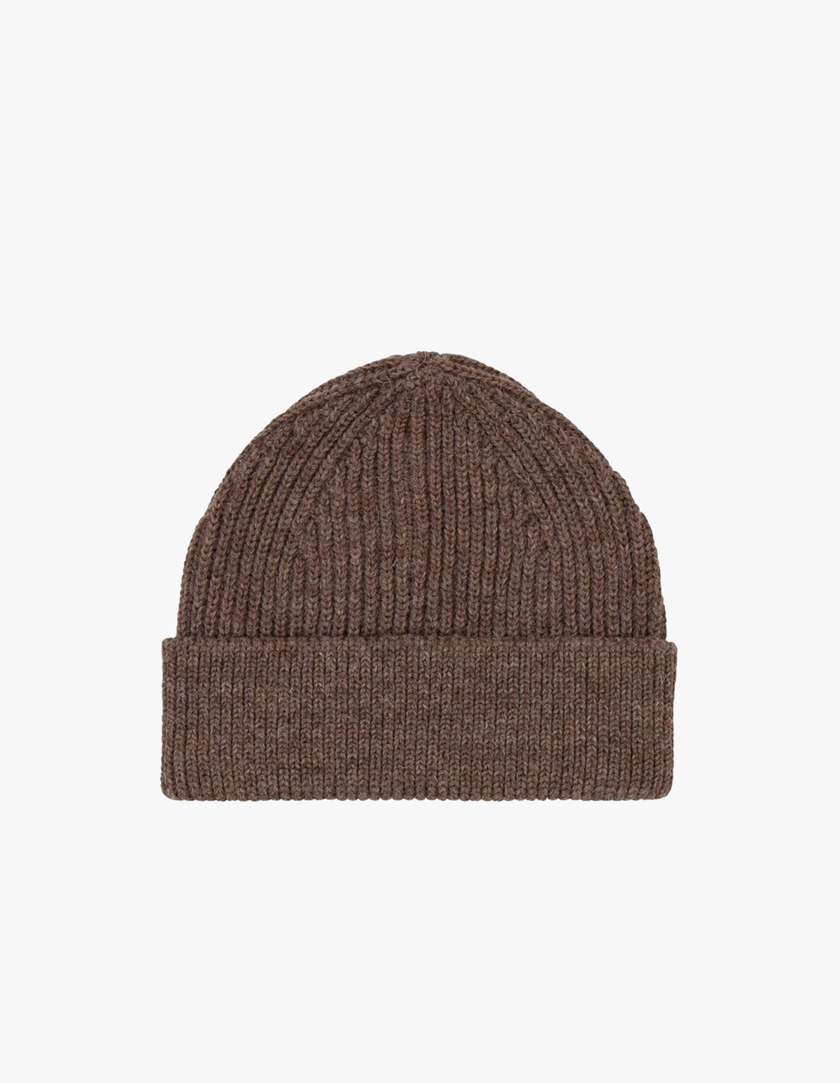 Andersen-Andersen Beanie Short  in Natural Taupe