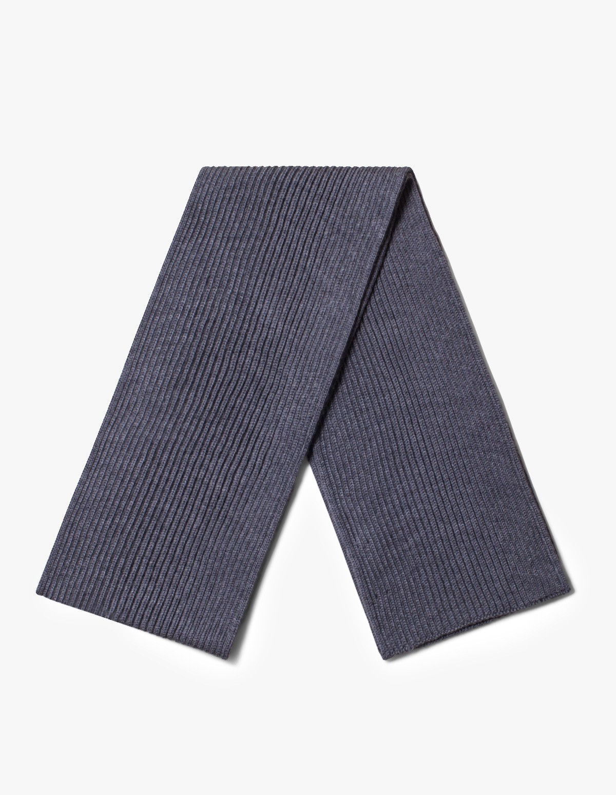 Andersen-Andersen Wide Scarf in Grey