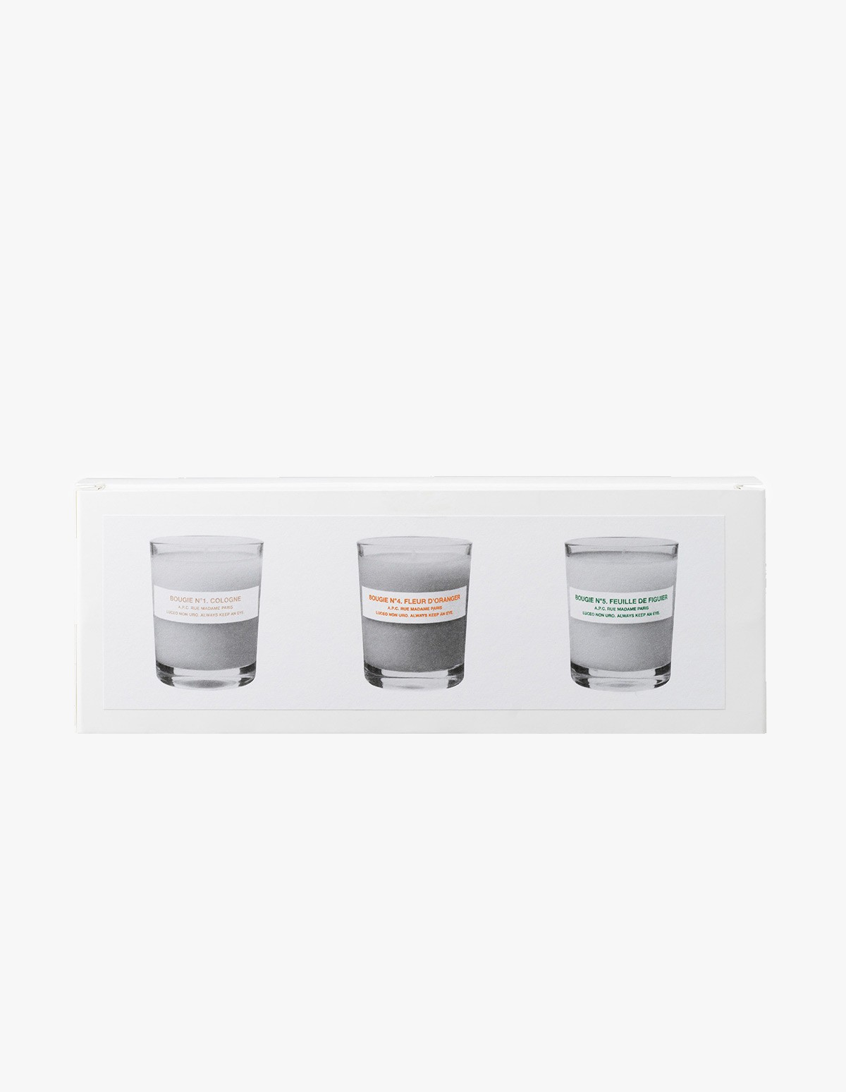 A.P.C. Box of Small Candles 1.4.5. in