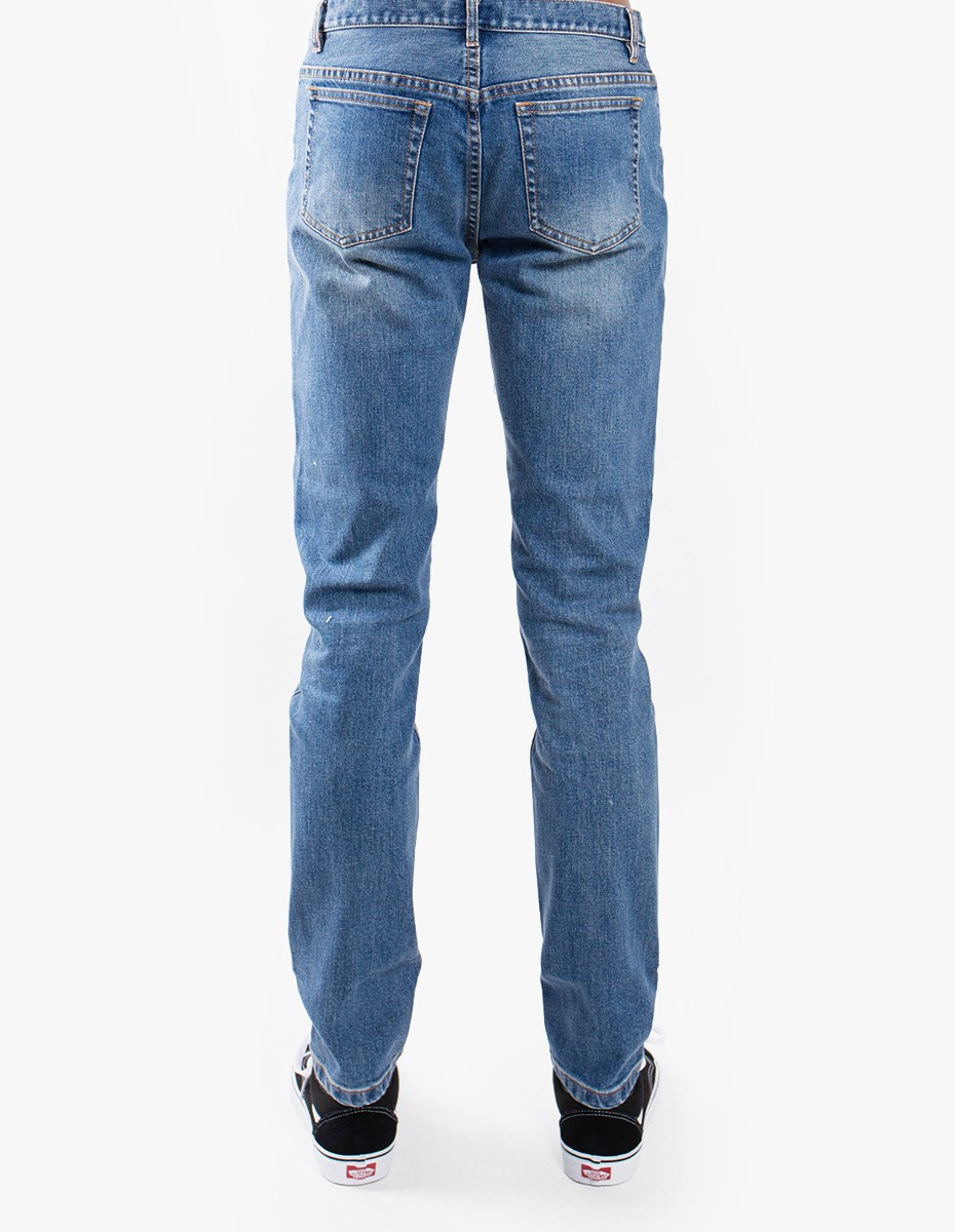 A.P.C. Petit New Standard  in Medium Wash Indigo