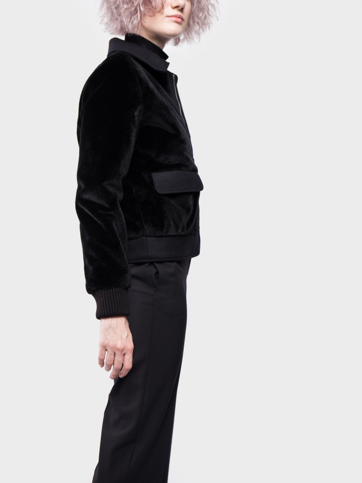 A.P.C. Blouson Brune  in Black