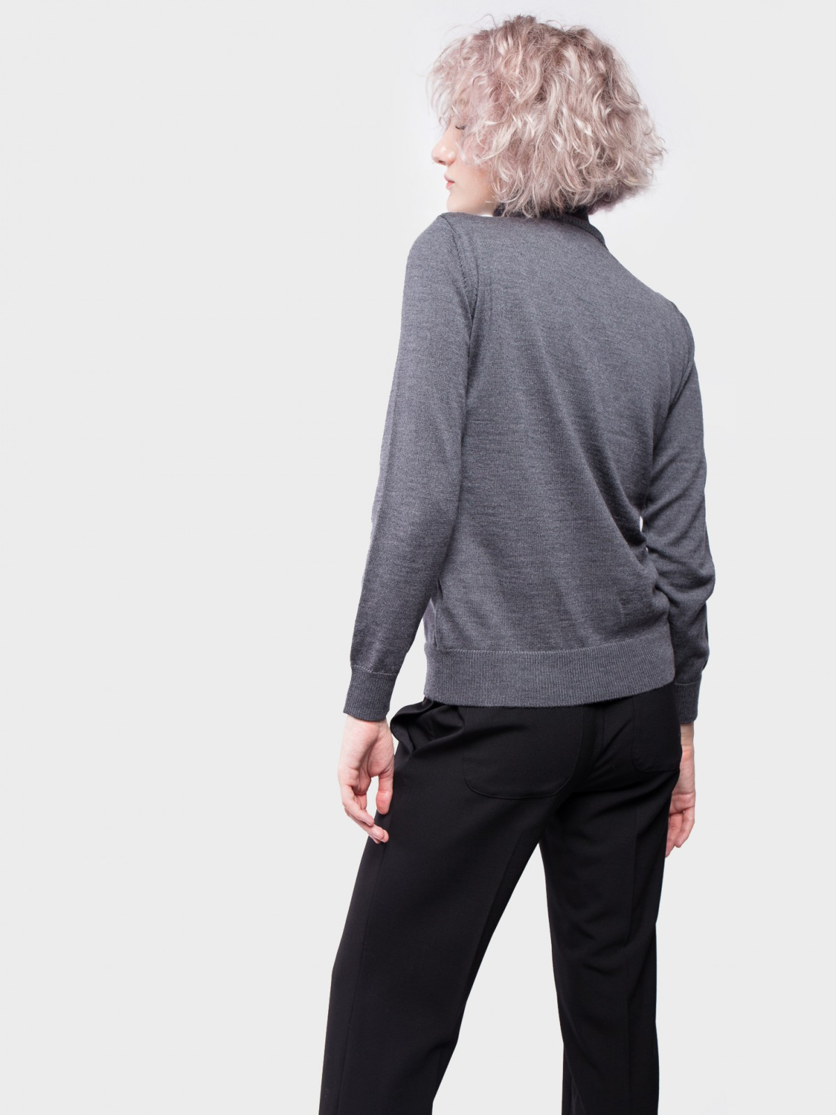 A.P.C. Pull Sandra  in Anthracite