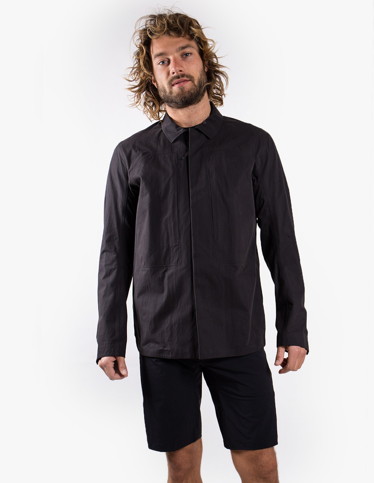 Arc'teryx Veilance Component Shirt  in Black