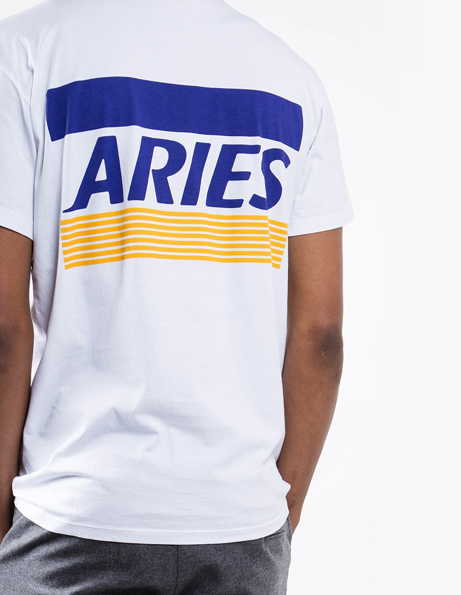 Aries Arise Credit Carde Tee in White