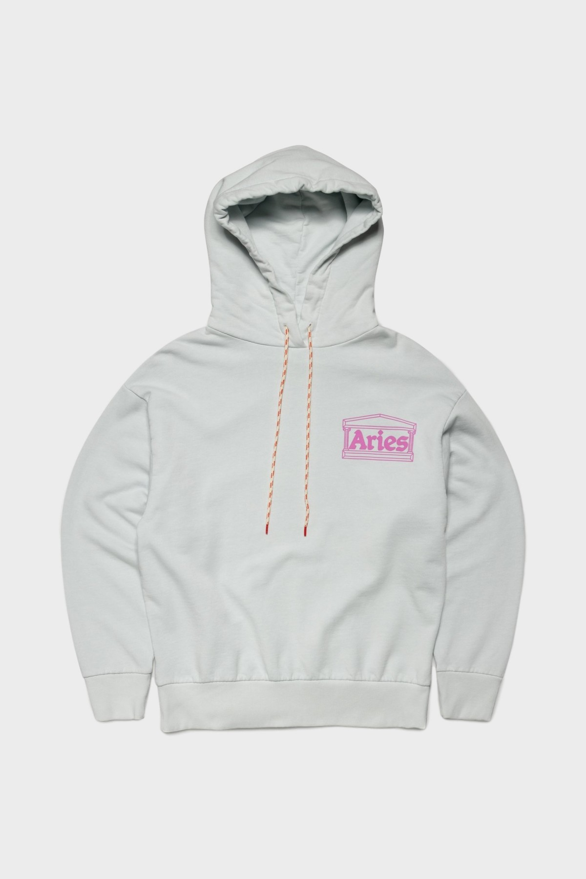 Aries Arise Hands Off Hoodie  in Pale Blue