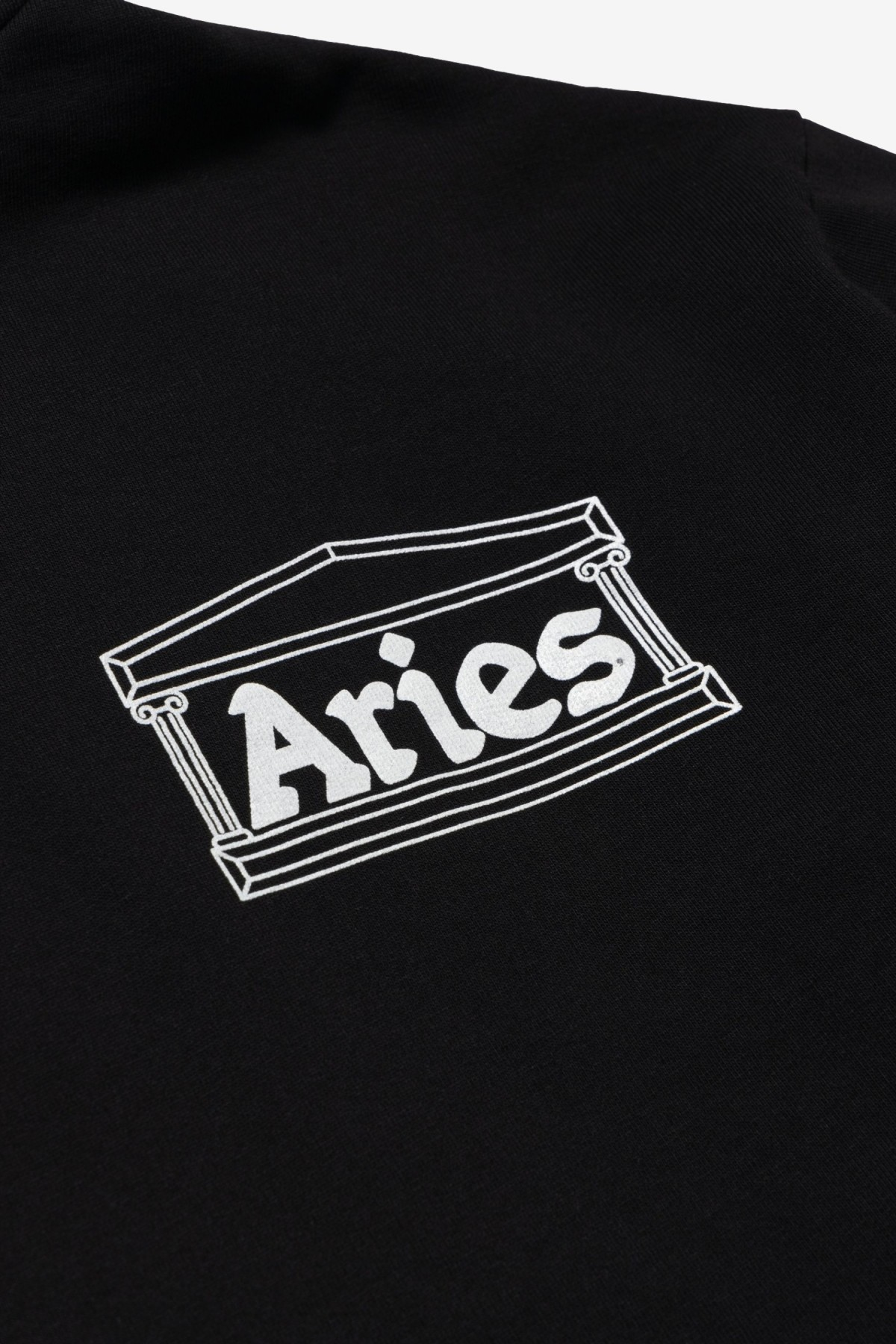 Aries Arise Temple Hoodie in Black
