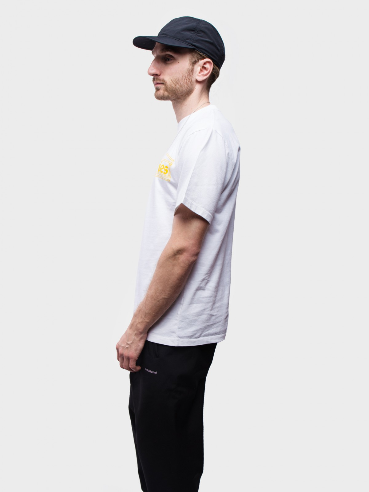 Aries Arise Classic Temple SS T-Shirt in White