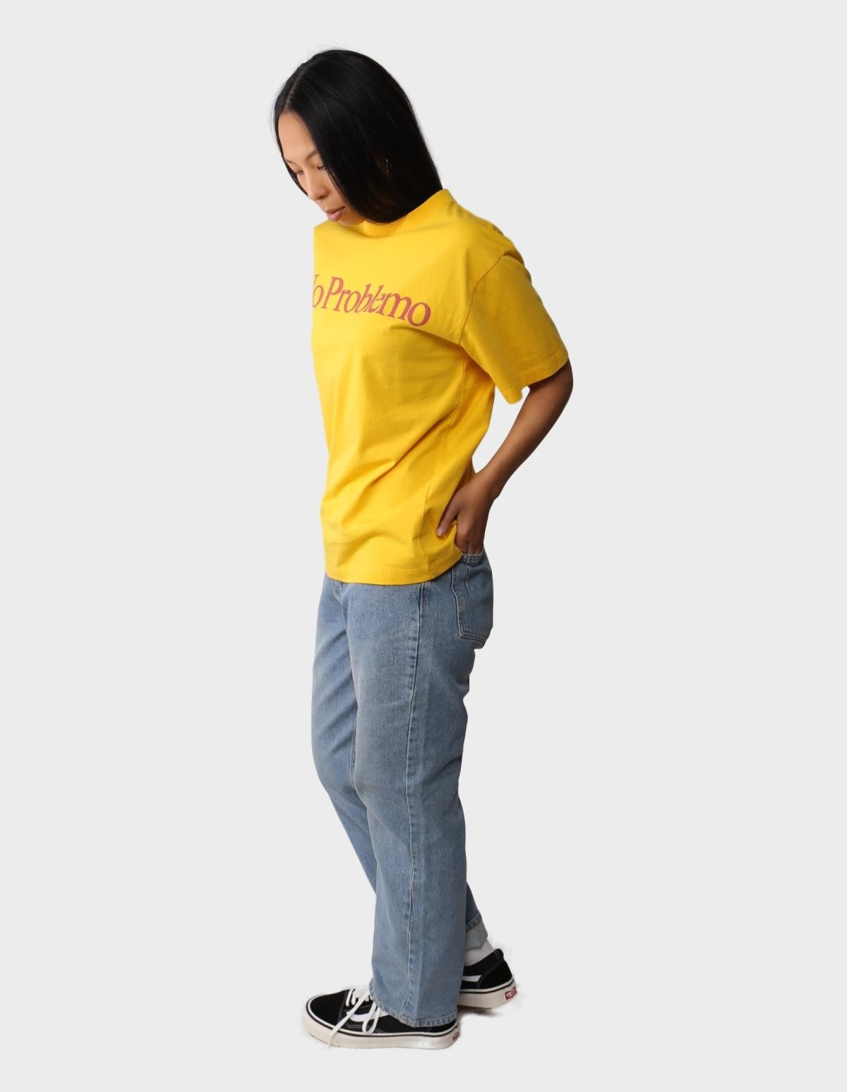 Aries Arise No Problemo SS Tee in Yellow