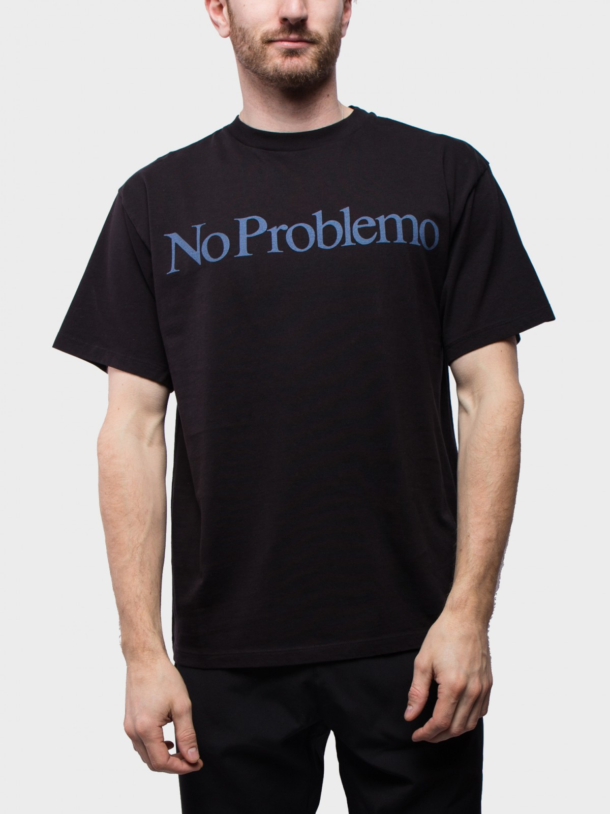 Aries Arise No Problemo SS T-Shirt in Black