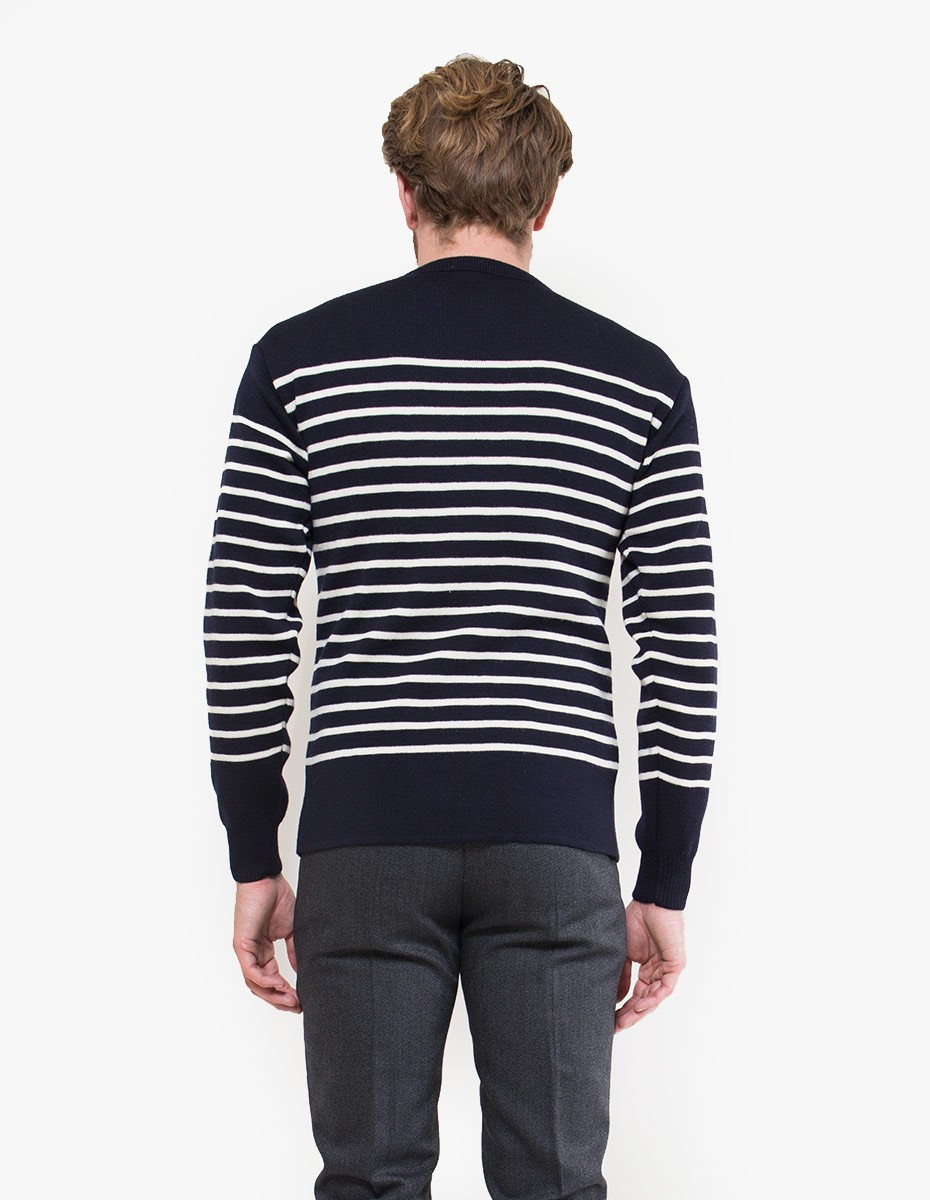 Armor Lux Heritage Sweat in Navy / Nature