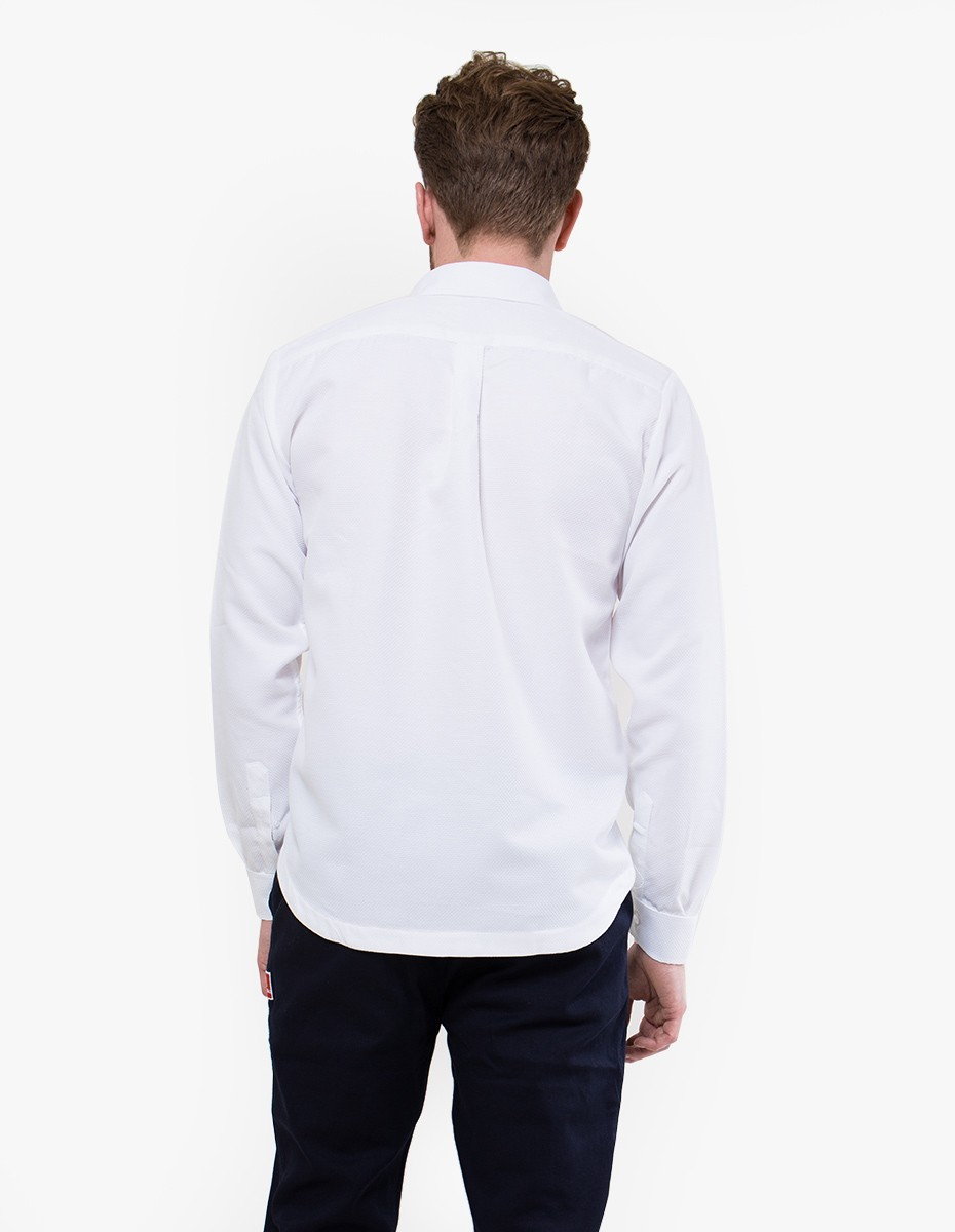 Arte Antwerp Bill Shirt in White