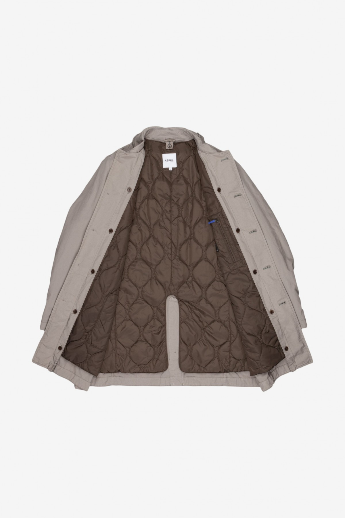 Aspesi Vodka II Raincoat in Stone