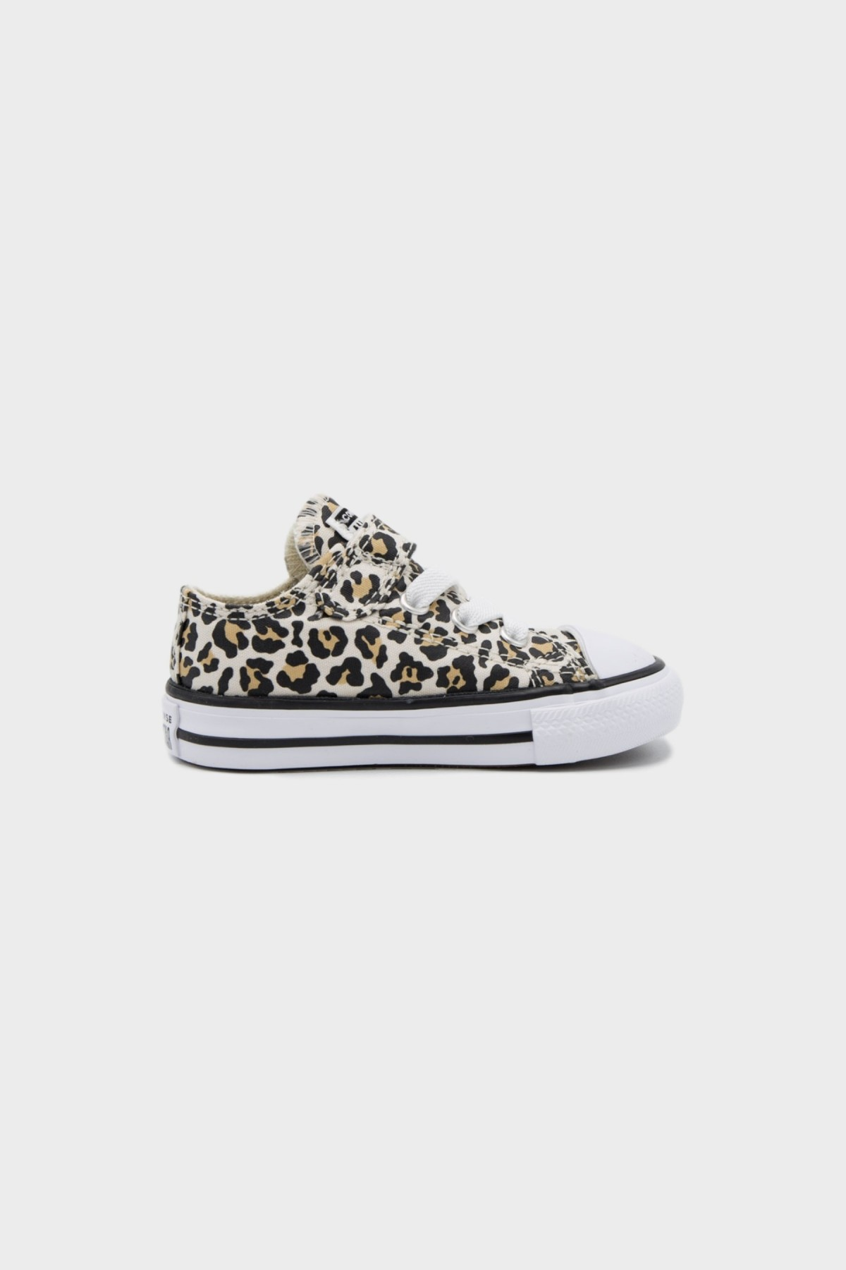 Converse All Stars OX Infant in Black Driftwood