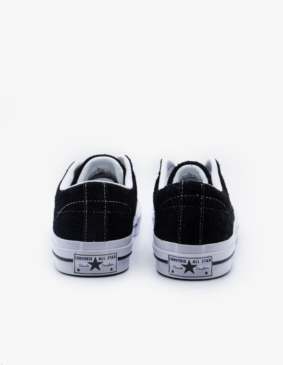 Converse One Star OX in Black