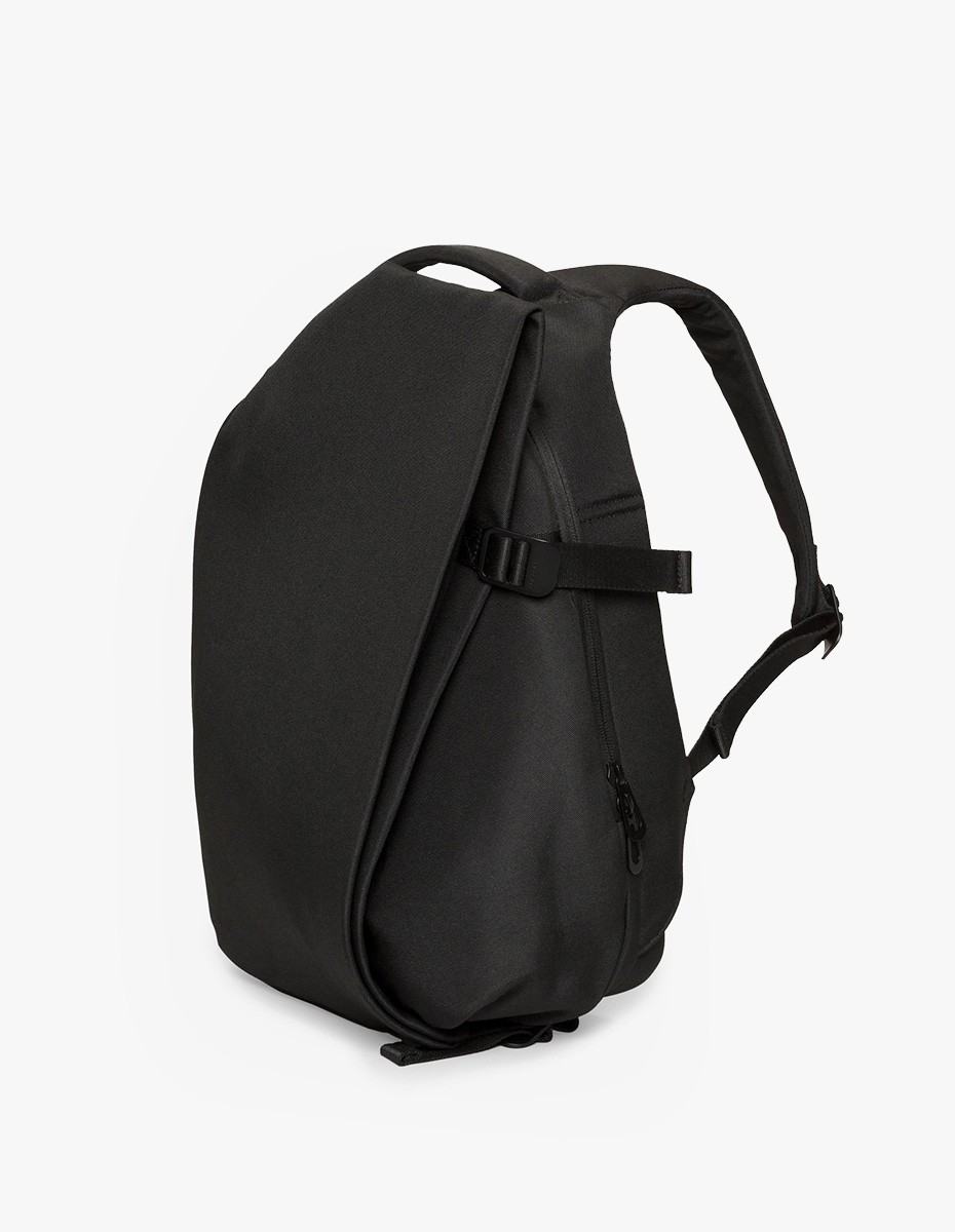 Cote & Ciel Isar Small Rucksack in Black Eco Yarn