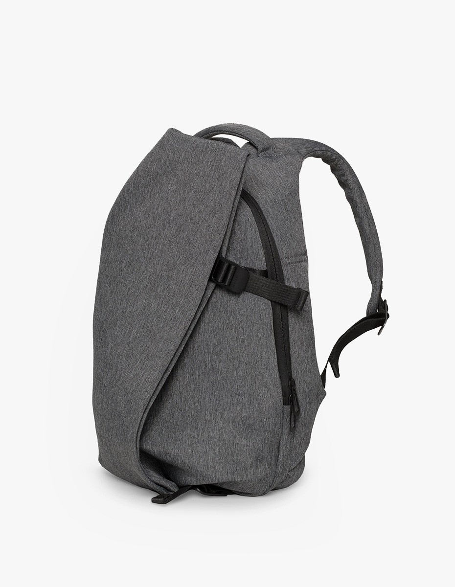 Cote & Ciel Isar Small Rucksack in Black Melange Eco Yarn