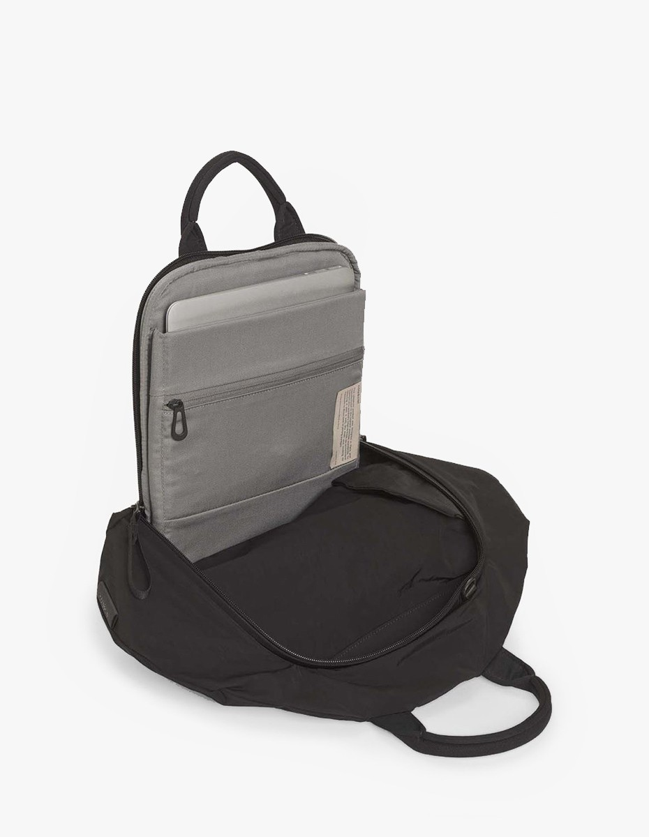 Cote & Ciel Moselle Backpack Memory Tech in Memory Tech Black
