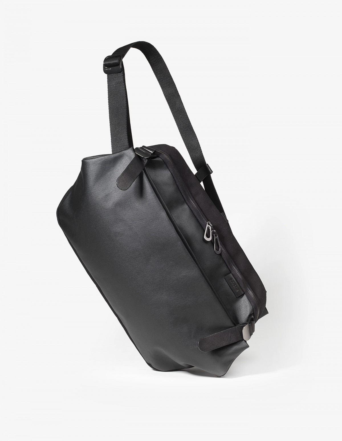 Cote & Ciel Riss Bag in Black Coated Canvas