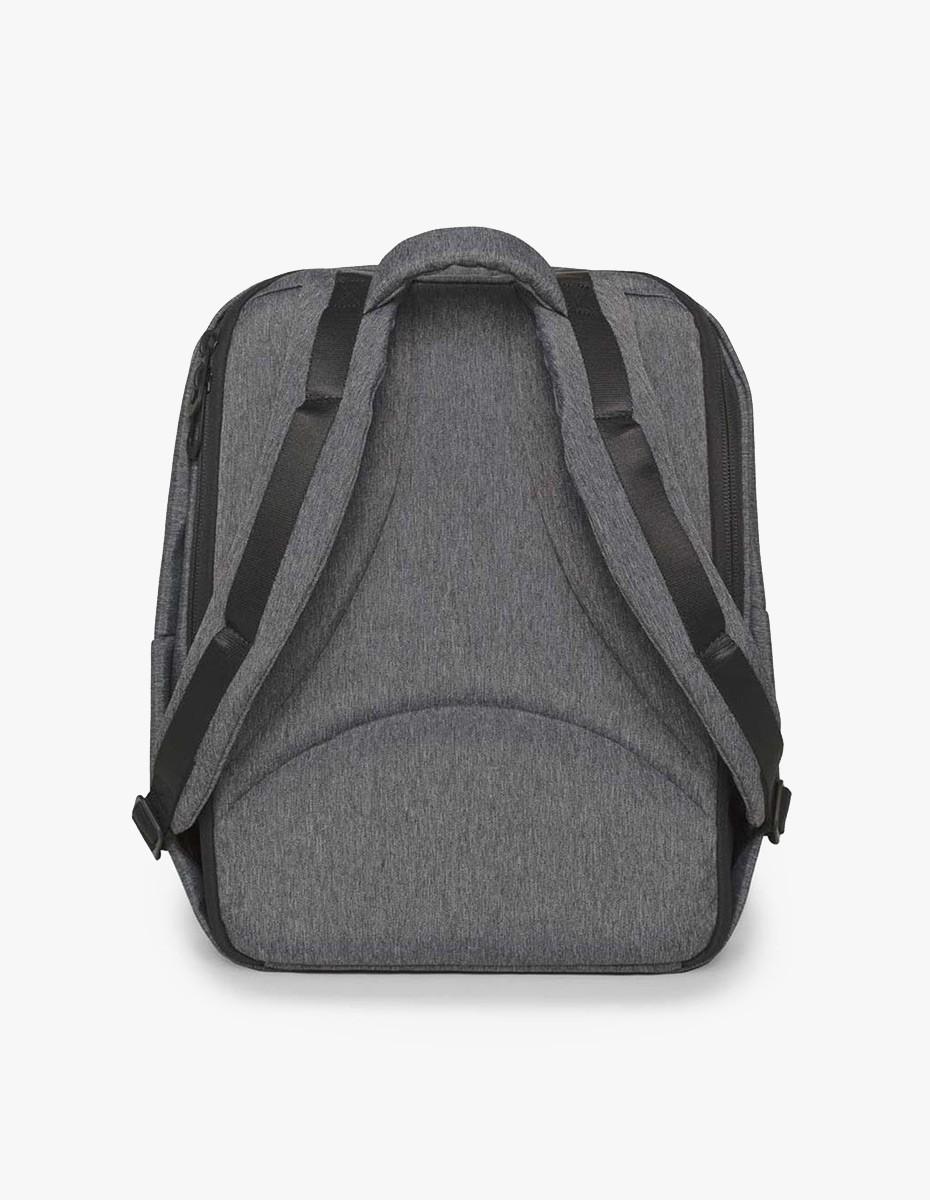 Cote & Ciel Rhine New Flat Backpack in Black Melange