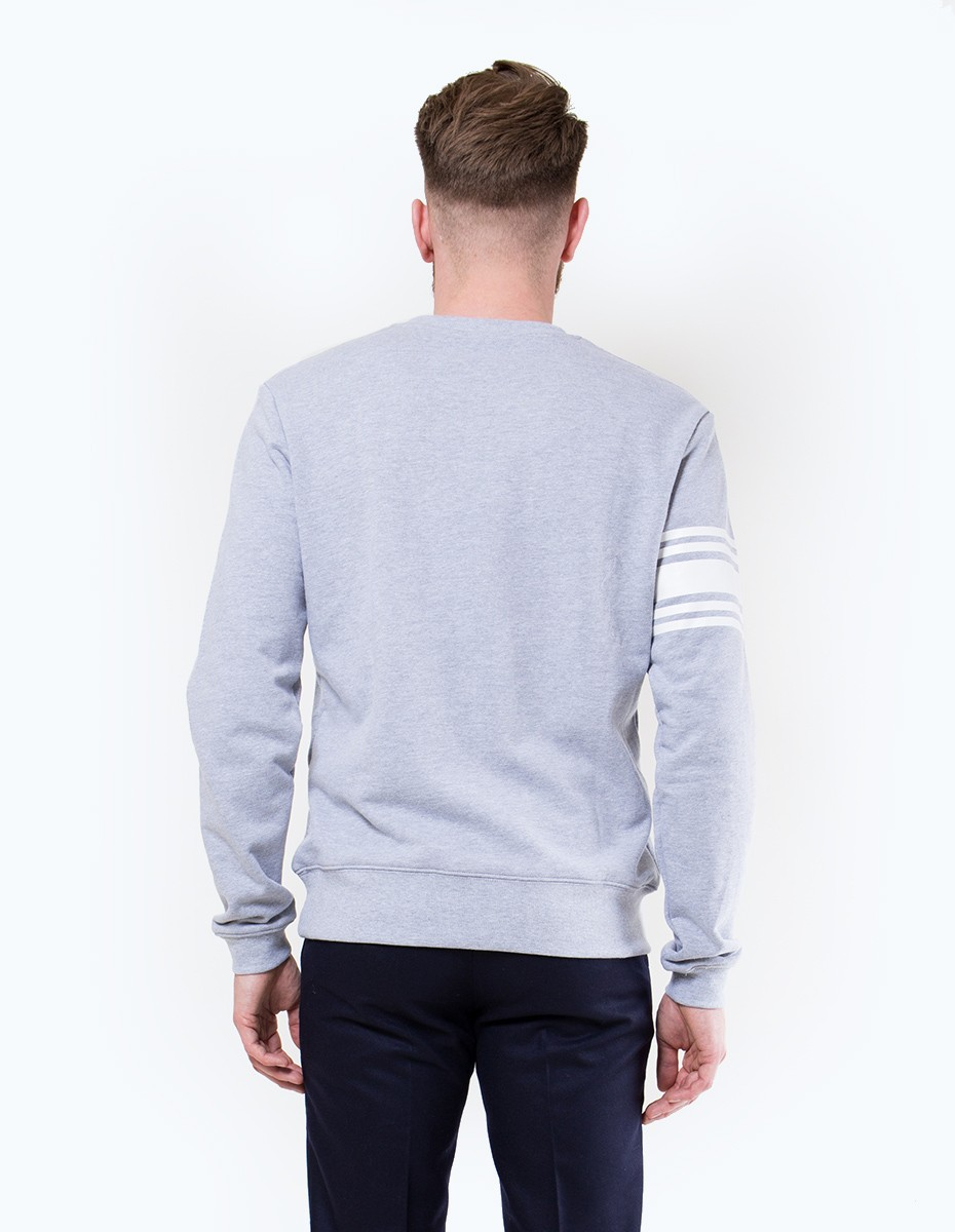 Daily Paper Script Logo Sweater in Grey