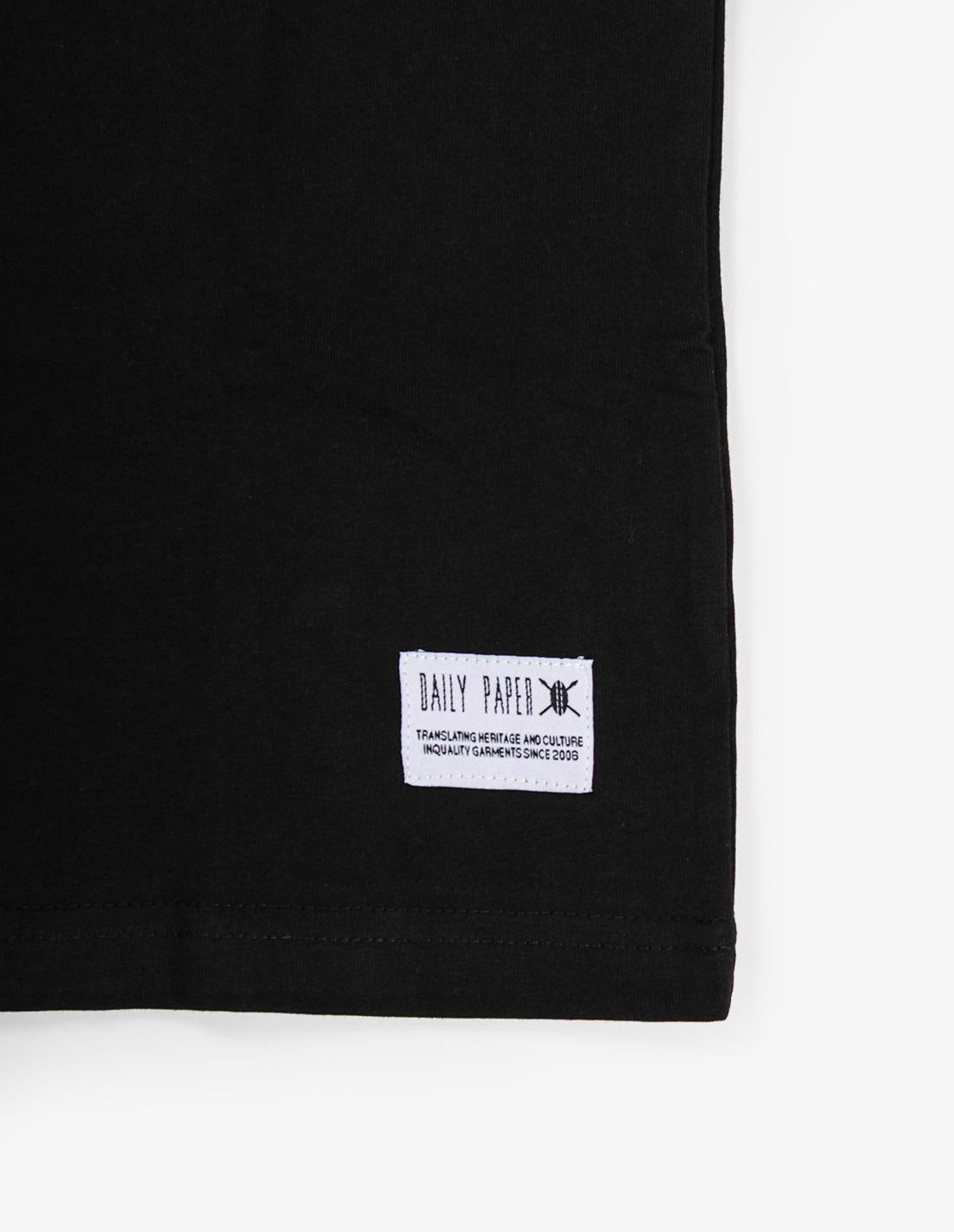 Daily Paper Box Logo Tee in Black