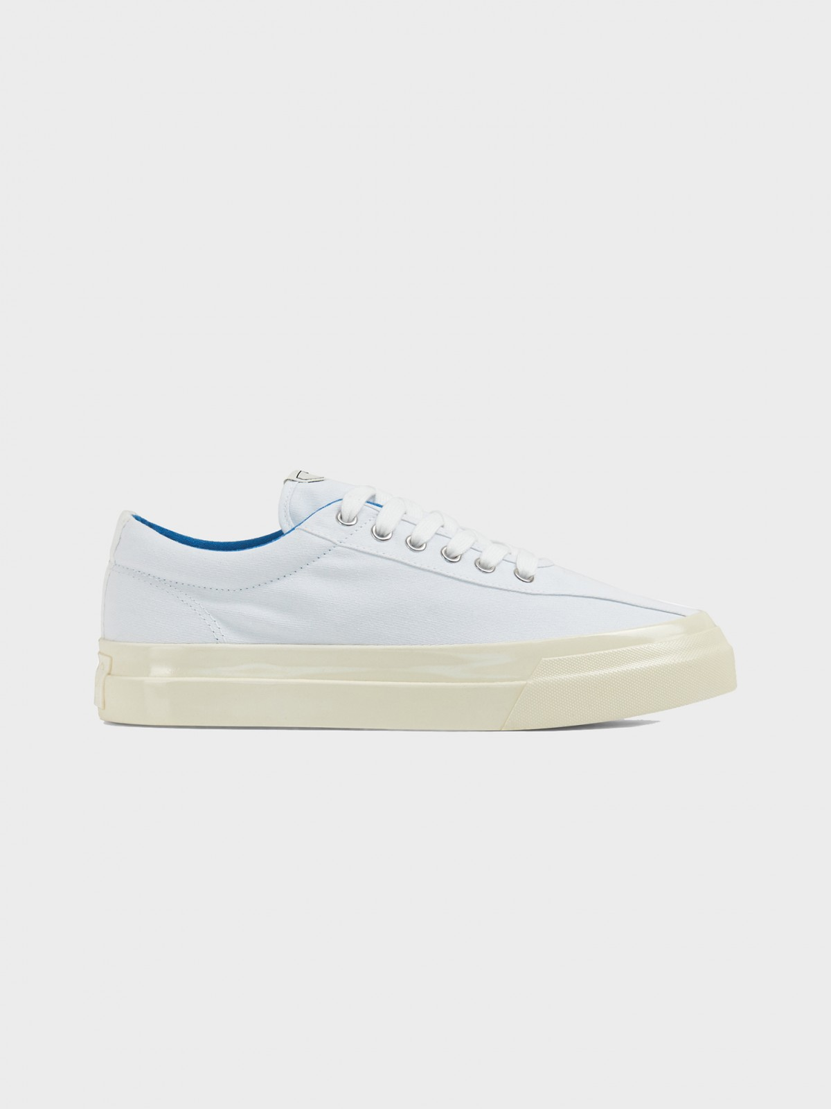 S.W.C. Stepney Workers Club Dellow M Canvas  in White Blu