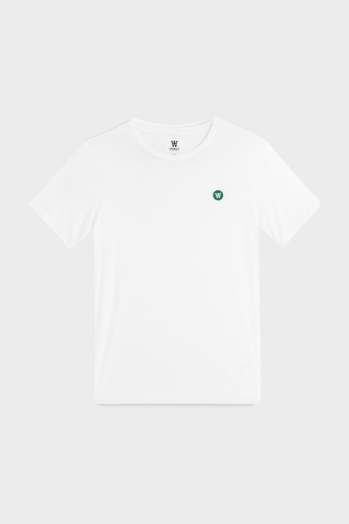 Wood Wood Ace T-Shirt in Bright White