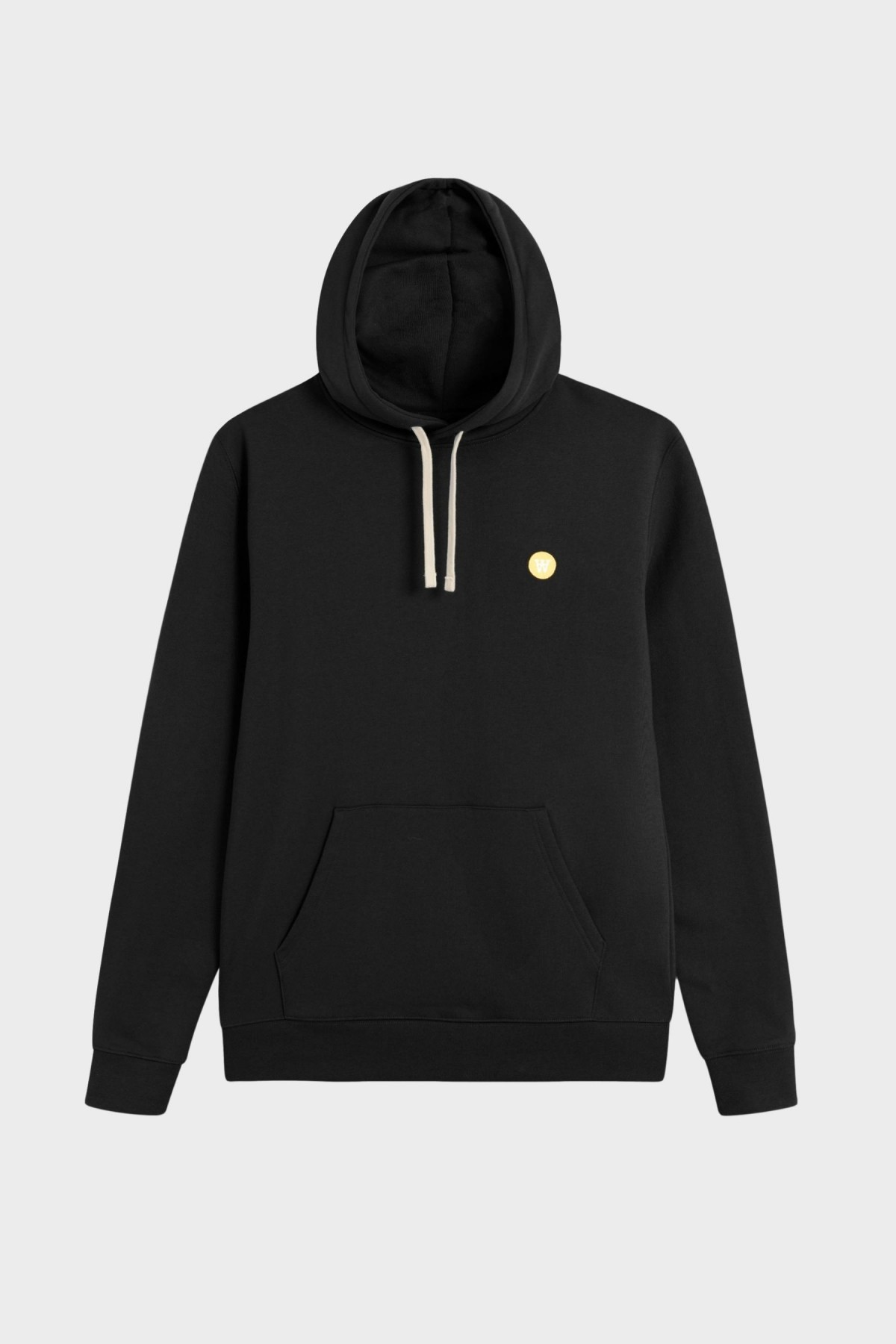 Wood Wood Ian Hoodie in Black