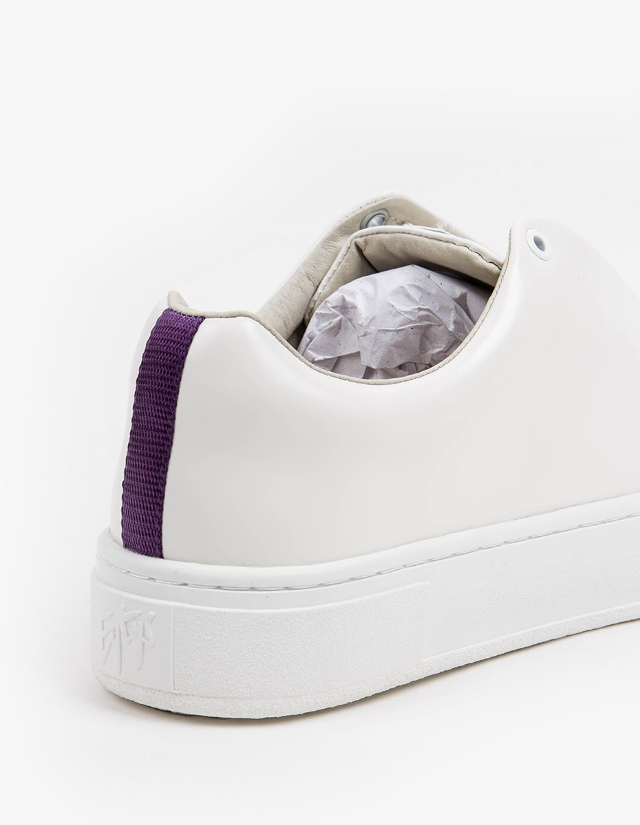 Eytys Doja Leather  in White