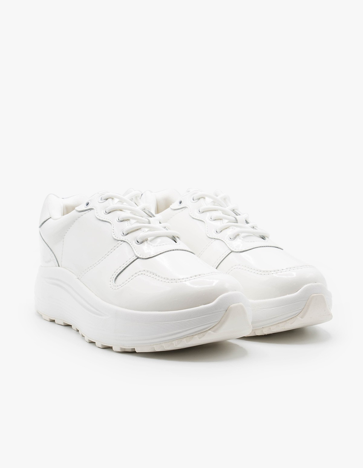Eytys Jet Patent  in White
