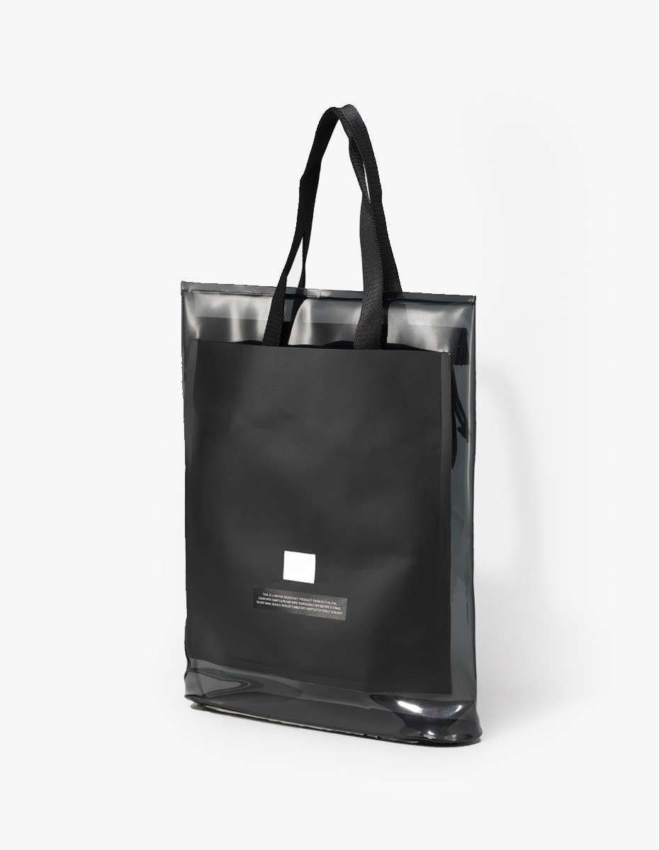 Eytys Void Tote in Clear Ink