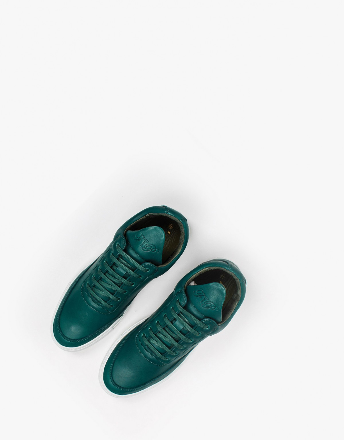 Filling Pieces Low Top in Greenway Leather
