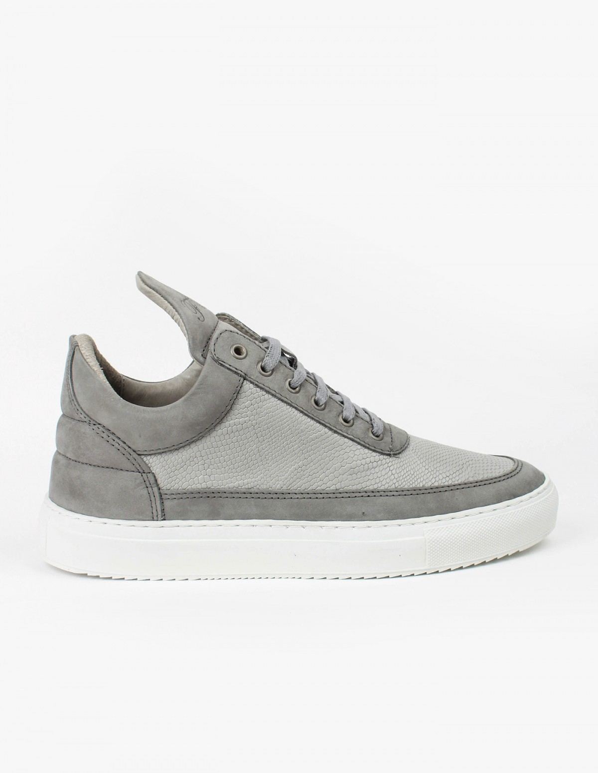 Filling Pieces Low Top in Leguano Steel