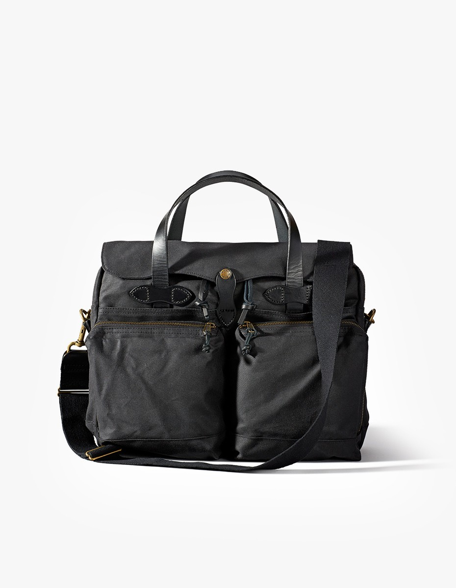 Filson 24 Hour Tin Briefcase in Black
