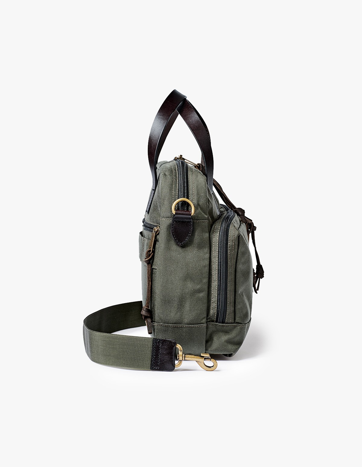 Filson Dryden Briefcase in Otter Green