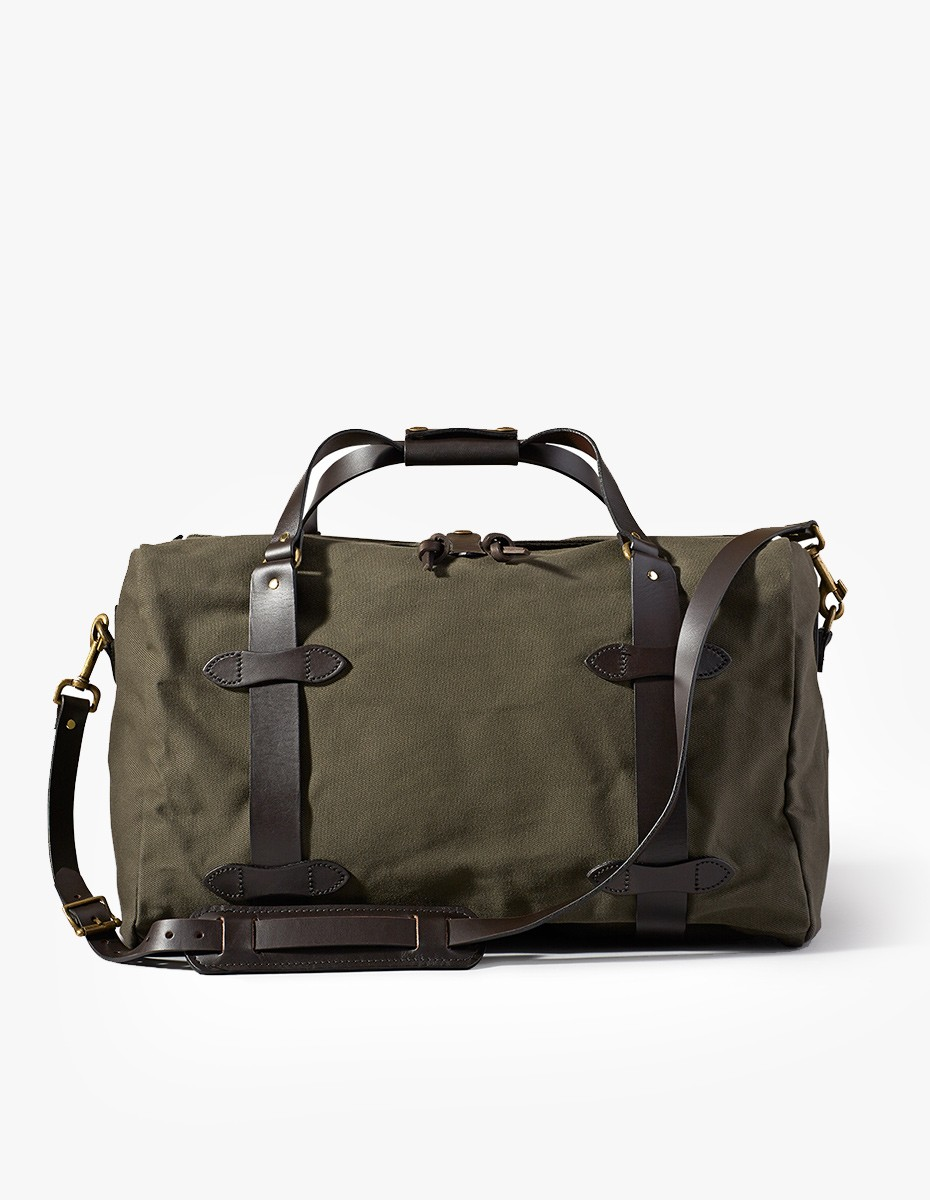 Filson Medium Duffle Bag in Otter Green
